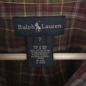 Ralph Lauren Shirts & Tops - Boys long sleeve, plaid, button down shirt